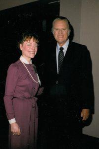 Anne Dunlap and Dr. Billy Graham