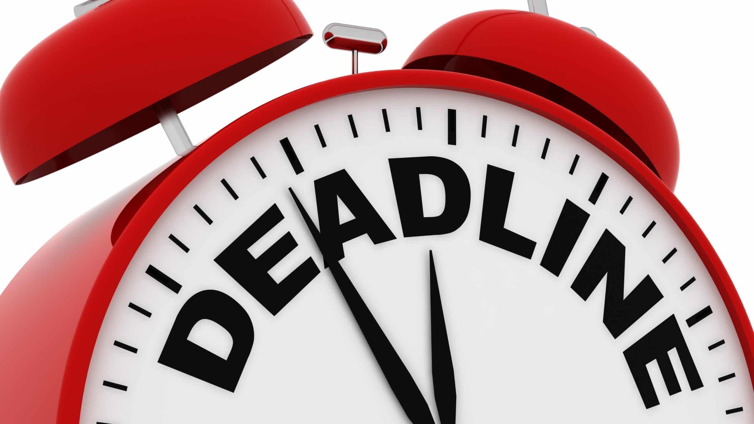 State EAS Plan Deadlines Announced